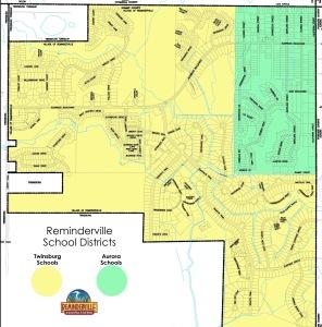 8.5x11 STREET MAP